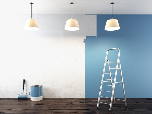 3 important things to consider before painting the house for Peinture interieur