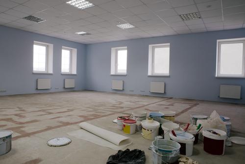 How to paint your office within 2 business days - Peinture pour bureau ...