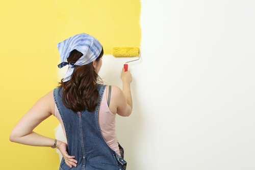 7 reasons to paint your house before cny - Repeindre un mur peint ...