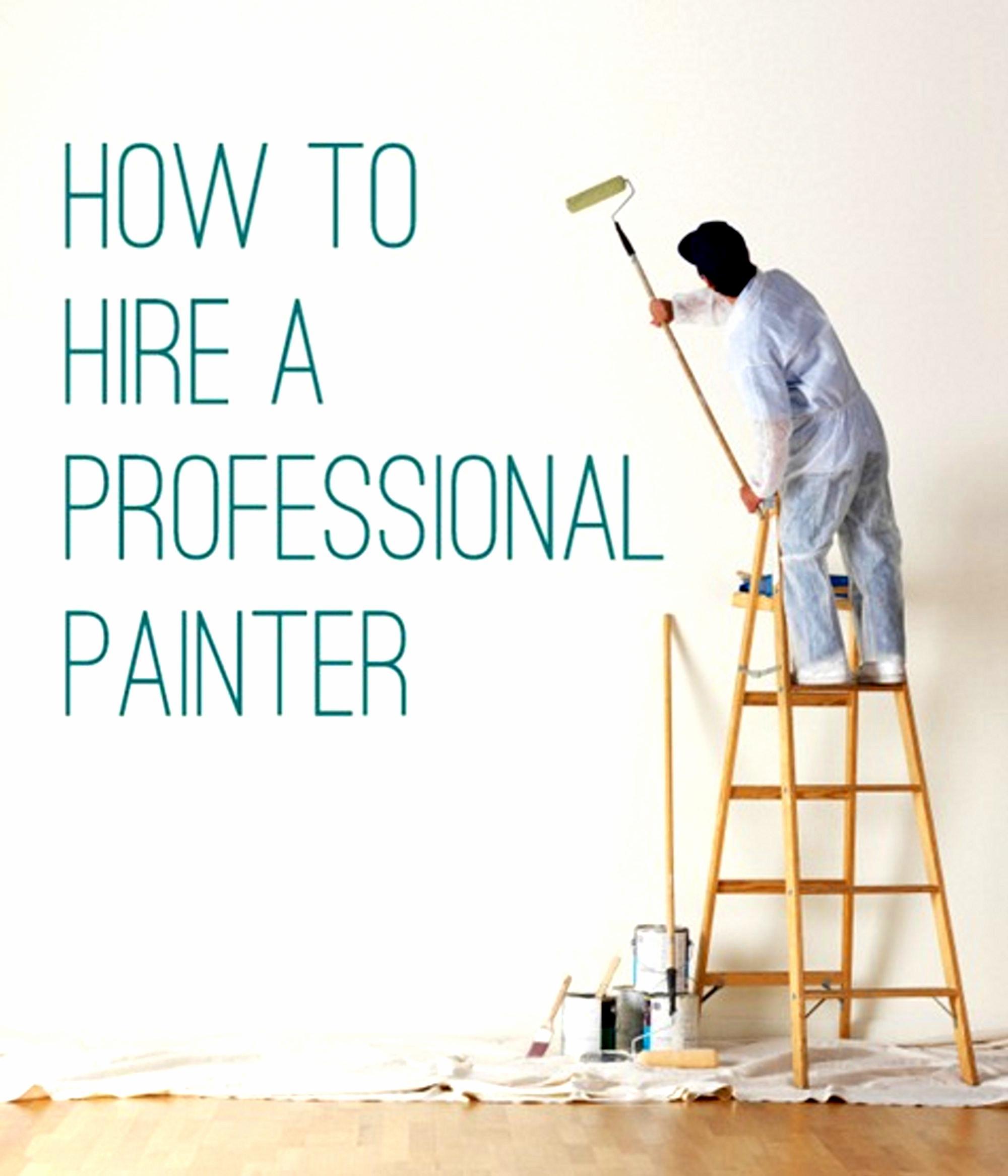 Professional building painter