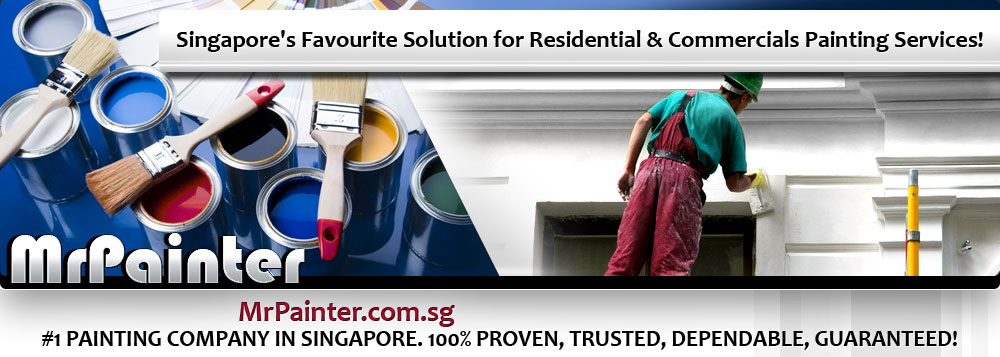 Mr Painter - #1 Paintng Company in Singapore. Singapore's favoite solution for residential & commercials painting services