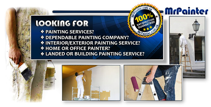 Looking for Painting Services? Reliable painting compan? Interior/exterior painting service? Home & Office Painter? Landed or building painting service?